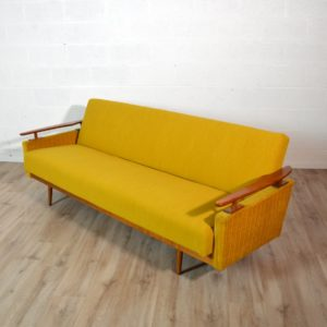 Canapé : Daybed scandinave 1960 vintage 14