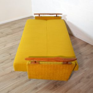Canapé : Daybed scandinave 1960 vintage 32
