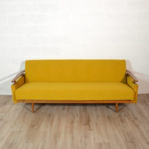 Canapé : Daybed scandinave 1960 vintage 4