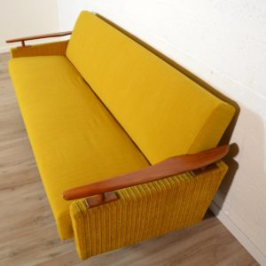 Canapé : Daybed scandinave 1960 vintage 5