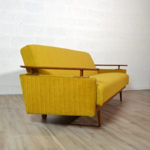 Canapé : Daybed scandinave 1960 vintage 9