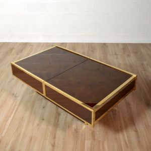 Table basse Willy Rizzo Design 1970 vintage 19