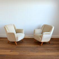 2 fauteuils Allemand 1960 vintage 3