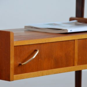 Table d'appoint : console scnadinave 1960 teck vintage 14