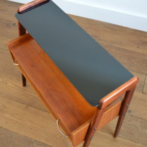 Table d'appoint : console scnadinave 1960 teck vintage 36