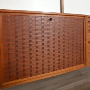 Wall units Poul cadovius royal system scandinave Danemark 1960 vintage 21