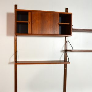 Wall units Poul cadovius royal system scandinave Danemark 1960 vintage 63