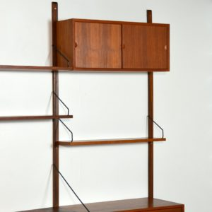 Wall units Poul cadovius royal system scandinave Danemark 1960 vintage 95