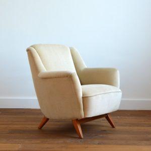 2 fauteuils Allemand 1960 vintage 11