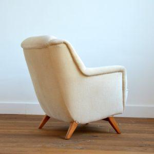 2 fauteuils Allemand 1960 vintage 31
