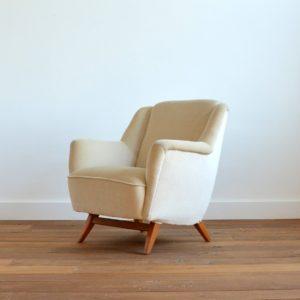 2 fauteuils Allemand 1960 vintage 38
