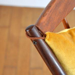 Rocking Chair scandinave par Frank Reenskaug pour Bramin 1960 vintage 7