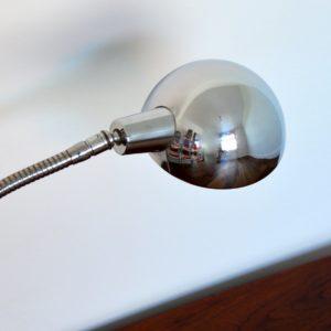 Lampe articulé années 50 chromée jielde vintage 14