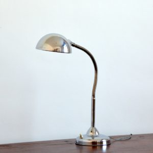 Lampe articulé années 50 chromée jielde vintage 23