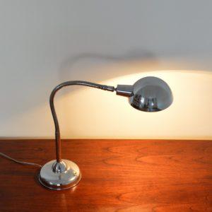Lampe articulé années 50 chromée jielde vintage 3