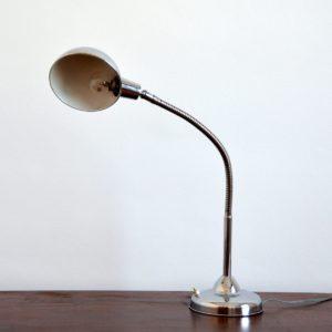 Lampe articulé années 50 chromée jielde vintage 32