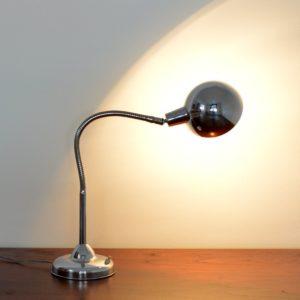 Lampe articulé années 50 chromée jielde vintage 5