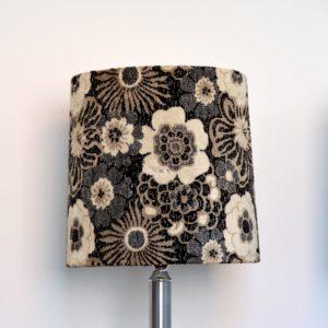Paire de lampe fleuris années 70 vintage 18