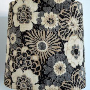 Paire de lampe fleuris années 70 vintage 32