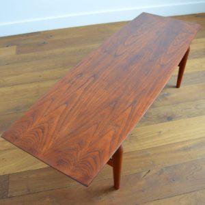 table basse scandinave teck et palissandre 1960 vintage 12