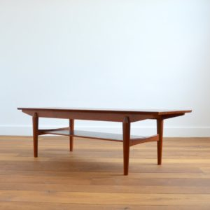 table basse scandinave teck et palissandre 1960 vintage 3