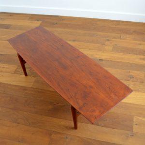 table basse scandinave teck et palissandre 1960 vintage 6