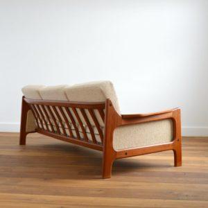 Sofa : Canapé Danois Scandinave teck 1960 vintage 27