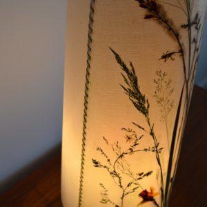 Lampe de table Herbier 1970 vintage 11