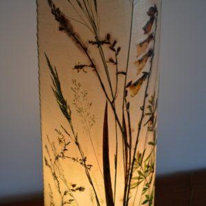 Lampe de table Herbier 1970 vintage 13