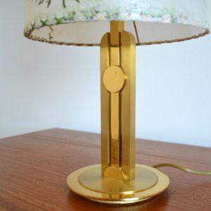 Lampe de table Herbier 1970 vintage 20