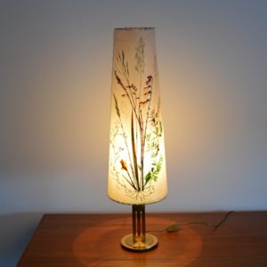 Lampe de table Herbier 1970 vintage 3
