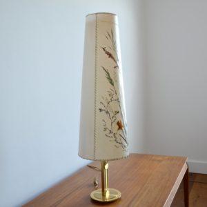 Lampe de table Herbier 1970 vintage 35