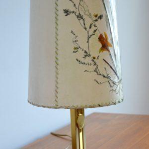 Lampe de table Herbier 1970 vintage 37