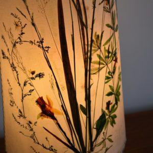 Lampe de table Herbier 1970 vintage 49