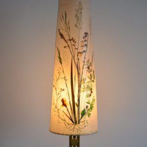Lampe de table Herbier 1970 vintage 8