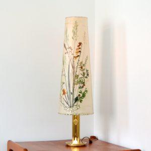 Lampe de table Herbier 1970 vintage d