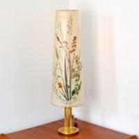Lampe de table Herbier 1970 vintage e