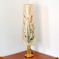 Lampe de table Herbier vintage 1970s
