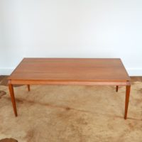 Table basse Danoise teck 1960s
