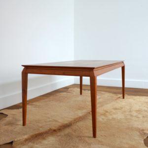 Table basse Danoise Scandinave 1960 teck vintage 28