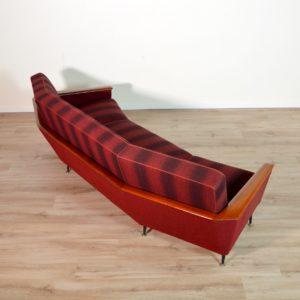 canapé incurvé années 50 vintage 109