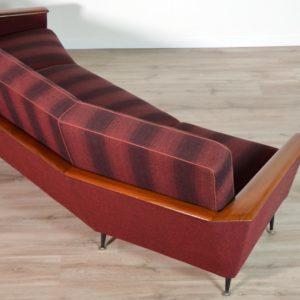 canapé incurvé années 50 vintage 110