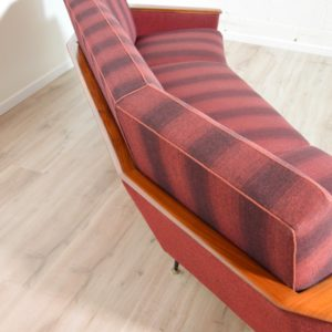 canapé incurvé années 50 vintage 92