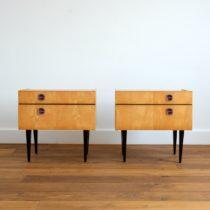 1 paire de chevets 1960 : 1970 vintage 9