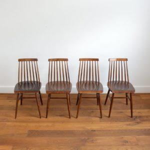 4 chaises tapiovaara vintage Ikea 3