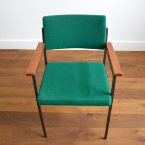 Chaise design par Gijs van der Sluis Holland 1960 vintage 1
