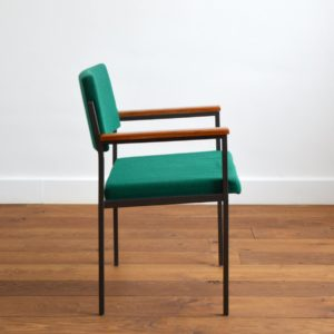 Chaise design par Gijs van der Sluis Holland 1960 vintage 10