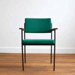 Chaise design par Gijs van der Sluis Holland 1960 vintage 5