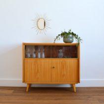 Enfilade – Commode – meuble vitrine 1960 vintage 1