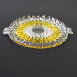 Plat à tarte : gâteau de Walther Glass 1960s vintage 16